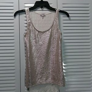 Tops - Shine Silver Blouse